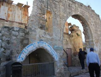 The tomb of Ruth and Yishai