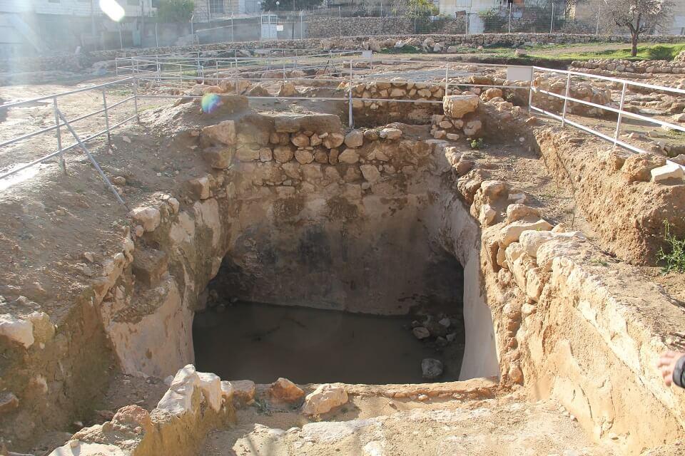 Ancient Mikveh at Tel Hebron
