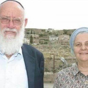 PHOTO: Miriam Levinger and her husband Rabbi Moshe Levinger. Credit: Miri Tzachi.